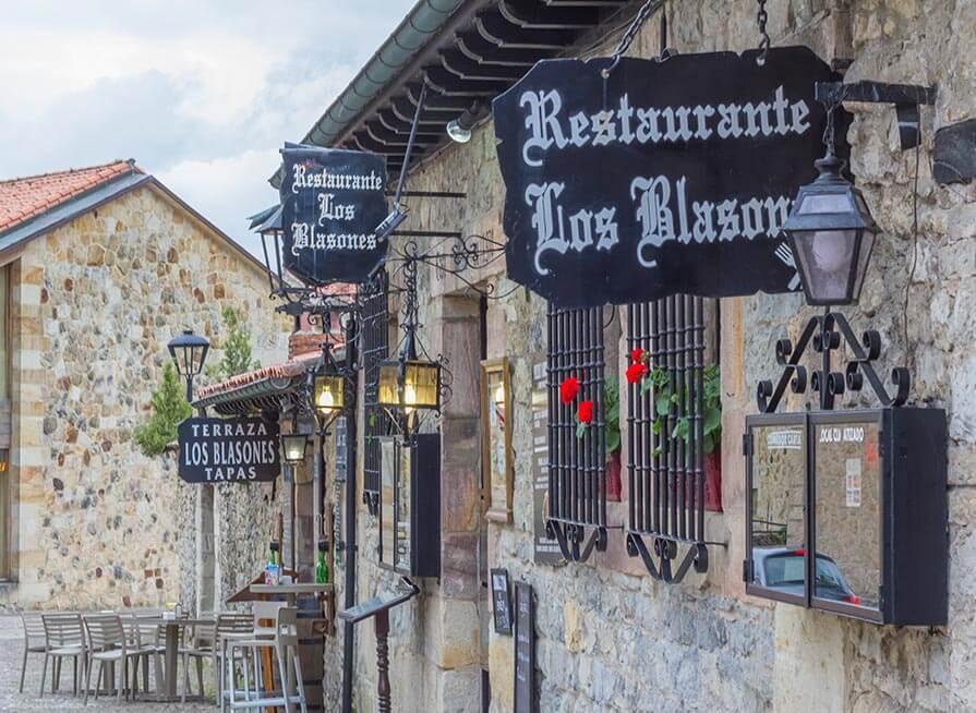 restaurante santillana del mar